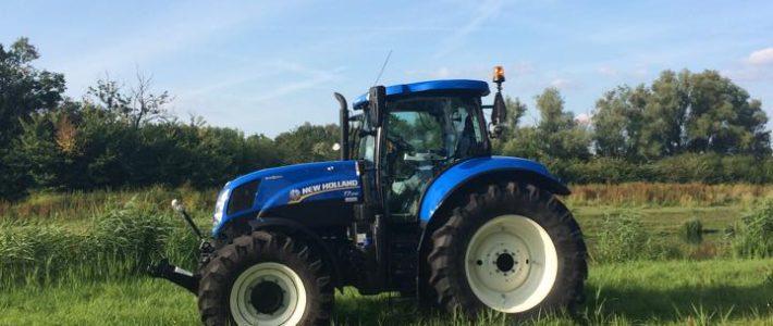Vandaag een nieuwe new holland t7.210 autocommand in gebruik genomen